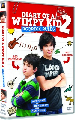 Buy Diary Of A Wimpy Kid 2: Roderick Rules: Av Media