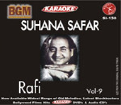 Buy Bollywood Greatest Melodies - Suhana Safar Mohd. Rafi Vol - 9 (Karaoke ): Av Media