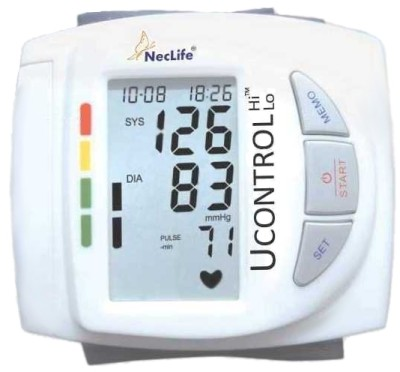 Buy Neclife Portable Wrist Bp Monitor: Bp Monitor