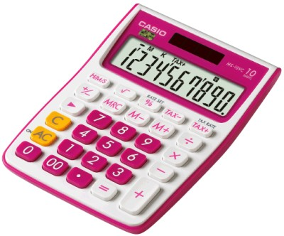 Buy Casio MS-10VC-RD Basic: Calculator