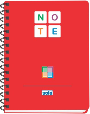 Buy Solo Management (Set of 4) B5 Notebook Spiral Binding: Diary Notebook