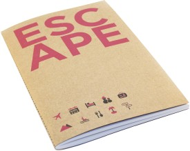 Buy Letternote Kraft Series Escape Pocket Notebook: Diary Notebook
