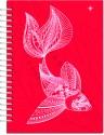 Karunavan Animal Kingdom Fish Red Journal Spiral Binding
