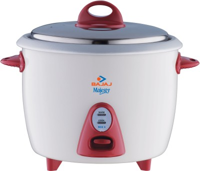 Buy Bajaj Majesty RCX 3 1.5 L Rice Cooker: Electric Cooker