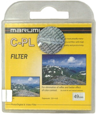 Buy Marumi 49 mm Circular Polarizer Filter: Filter