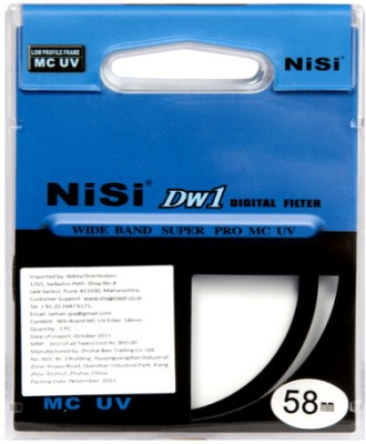 Buy Nisi 58 mm Ulta Violet Filter: Filter