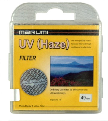 Buy Marumi 49 mm Ultra Violet Haze Filter: Filter