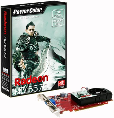 Buy PowerColor AMD/ATI Radeon HD5570 1 GB DDR3 Graphics Card: Graphics Card