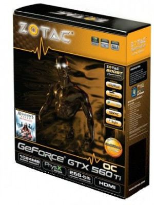 Buy ZOTAC NVIDIA Geforce GTX 560 Ti OC Edition 1 GB GDDR5 Graphics Card: Graphics Card