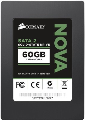 Buy Corsair Nova Series 60 GB SSD Internal Hard Drive (CSSD-V60GB2): Internal Hard Drive