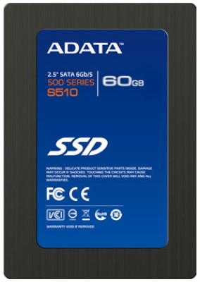 Buy ADATA 500 Series 60 GB SSD Internal Hard Drive (S510): Internal Hard Drive