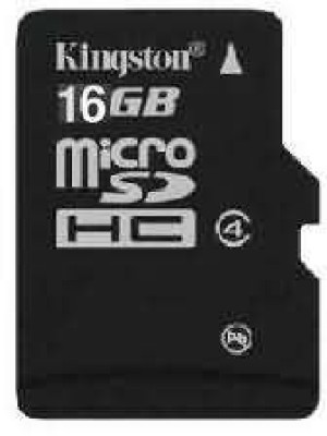 Buy Kingston Memory Card MicroSD 16 GB Class 4: Memory Card