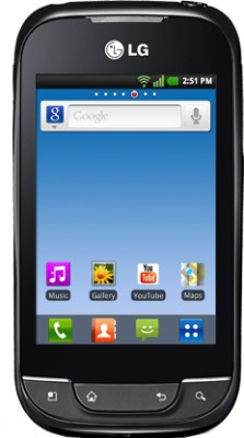 Buy LG Optimus Net Dual Sim P698: Mobile