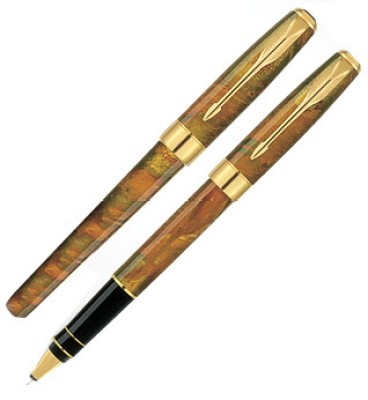 Buy Parker Chinese Laque Ambre Roller Ball Pen: Pen