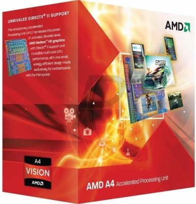 Buy AMD 2.7 GHz FM1 uPGA A4 3400 Processor: Processor
