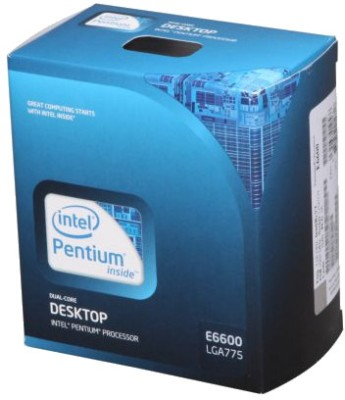 Buy Intel 3.06 GHz LGA 775 Dual Core E6600 Processor: Processor