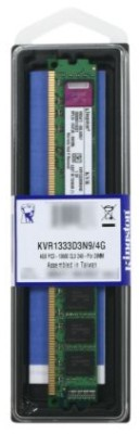 Buy Kingston ValueRAM DDR3 4 GB PC RAM (KVR1333D3N9/4G): RAM