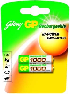 Buy Godrej GP AAA 1000 mAh (2 Pcs) Rechargeable Battery: Rechargeable Battery