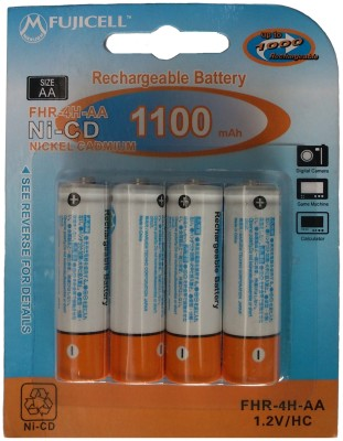 Buy Fujicell FHR-4H-AA (1100 mAh-4 Pcs) Rechargeable Ni-CD Battery: Rechargeable Battery
