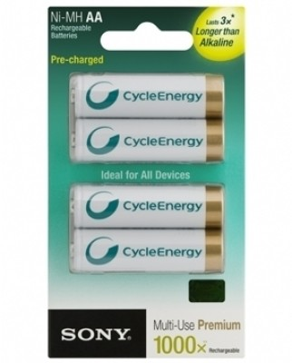 Buy Sony NH-AA-B4KN Rechargeable Ni-MH Battery: Rechargeable Battery