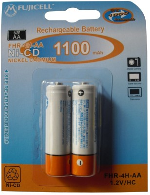 Buy Fujicell Ni-CD AA 1100mAh (2 Pcs) Rechargeable Battery: Rechargeable Battery