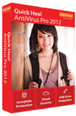 Buy Quick Heal AntiVirus Pro 2012 3 PC 1 Year: Security Software