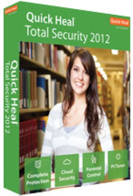 Buy Quick Heal Total Security 2012 5 PC 1 Year: Security Software
