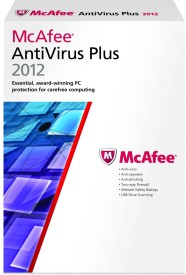 Buy McAfee AntiVirus Plus 2012 3 PC 1 Year: Security Software