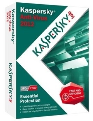 Buy Kaspersky Anti-Virus 2012 3 PC 1 Year: Security Software