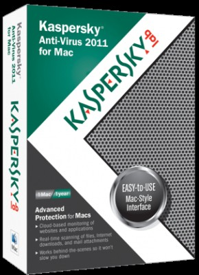 Buy Kaspersky Anti-Virus 2011 For Mac 1 Year: Security Software