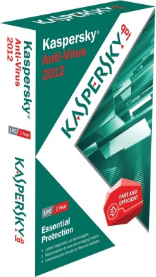 Buy Kaspersky Anti-Virus 2012 1 PC 1 Year: Security Software
