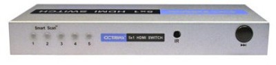 Buy Octava 5x1 HDMI Switch Selector Box: Selector Box
