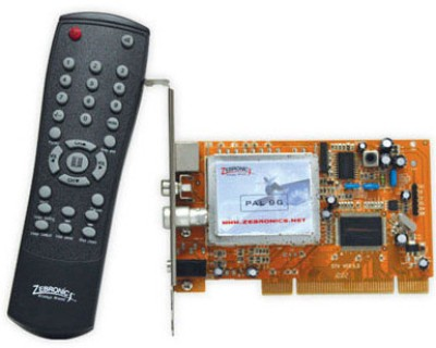Buy Zebronics Internal TV Tuner: TV Tuner Card