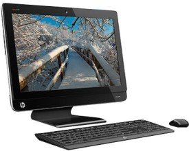 Buy HP Omni 220-1020IN / Intel 2nd Gen Core i5 / 2 GB / 1 TB / Win 7 Home Basic: All In One Desktop