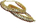 Little India Brass Anklet - Pack Of 2 - ANKDRZ52555XE9HD