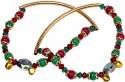 Little India Brass Anklet - Pack Of 2 - ANKDRZ52PBPRUZ8N