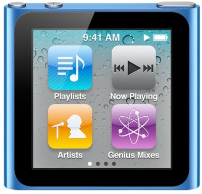 Buy Apple nano 7th Generation 16 GB MP4 Player: Home Audio & MP3 Players