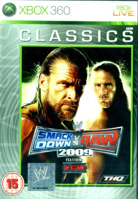 Buy WWE SmackDown Vs Raw 2009: Av Media