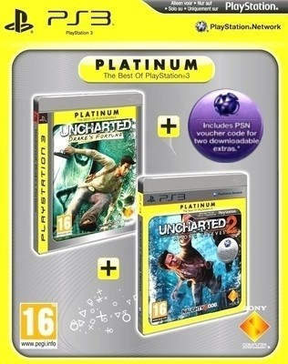Buy Uncharted : Drakes Fortune & Uncharted 2 : Among Thieves - Double Pack Bundle: Av Media