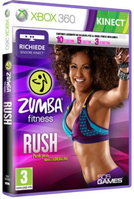 Buy Zumba Fitness Rush (Kinect Required): Av Media