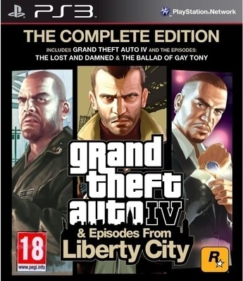 Buy Grand Theft Auto IV & Episodes From Liberty City: The Complete Edition: Av Media