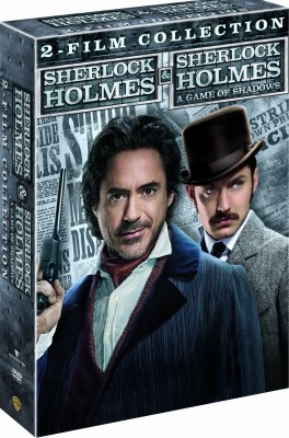 Buy Sherlock Holmes 1&2 DVD Collection: Av Media