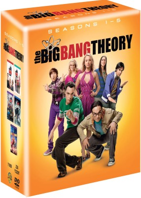 Buy The Big Bang Theory Season 1-5: Av Media