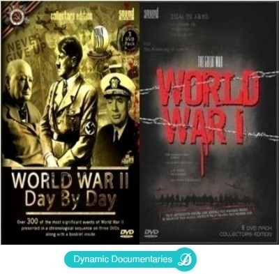 Buy The Great War - World War 1 / World War II - Day By Day: Av Media