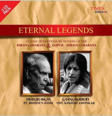 Buy Eternal Legends - Pt. Bhimsen Joshi - Smt. Kishori Amonkar: Av Media