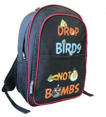 Buy Angry Birds Combo-with Pencil Pouch and School Bag: Bag