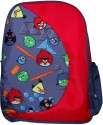 Angry Birds School Bag - Grey, Red