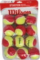 Wilson Starter Easy Tennis Ball - Pack Of 12, Multi-Color