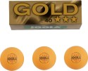 Joola Gold 3 Star Table Tennis Ball - Pack Of 3, Orange