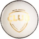 SG Club White Cricket Ball - Pack Of 1, White